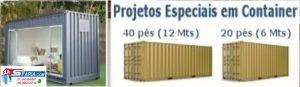 Projetos Especiais em Container HC high cube Projetos Especiais em Container REEFER