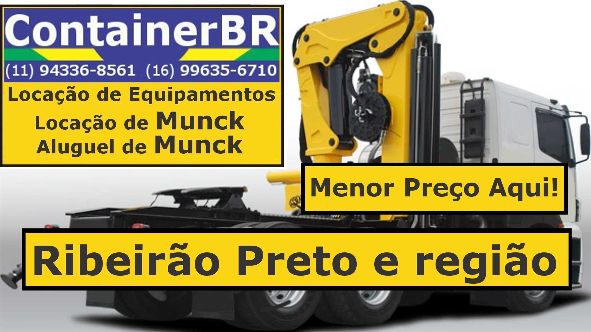 Caminhão Munck Ribeirão Preto