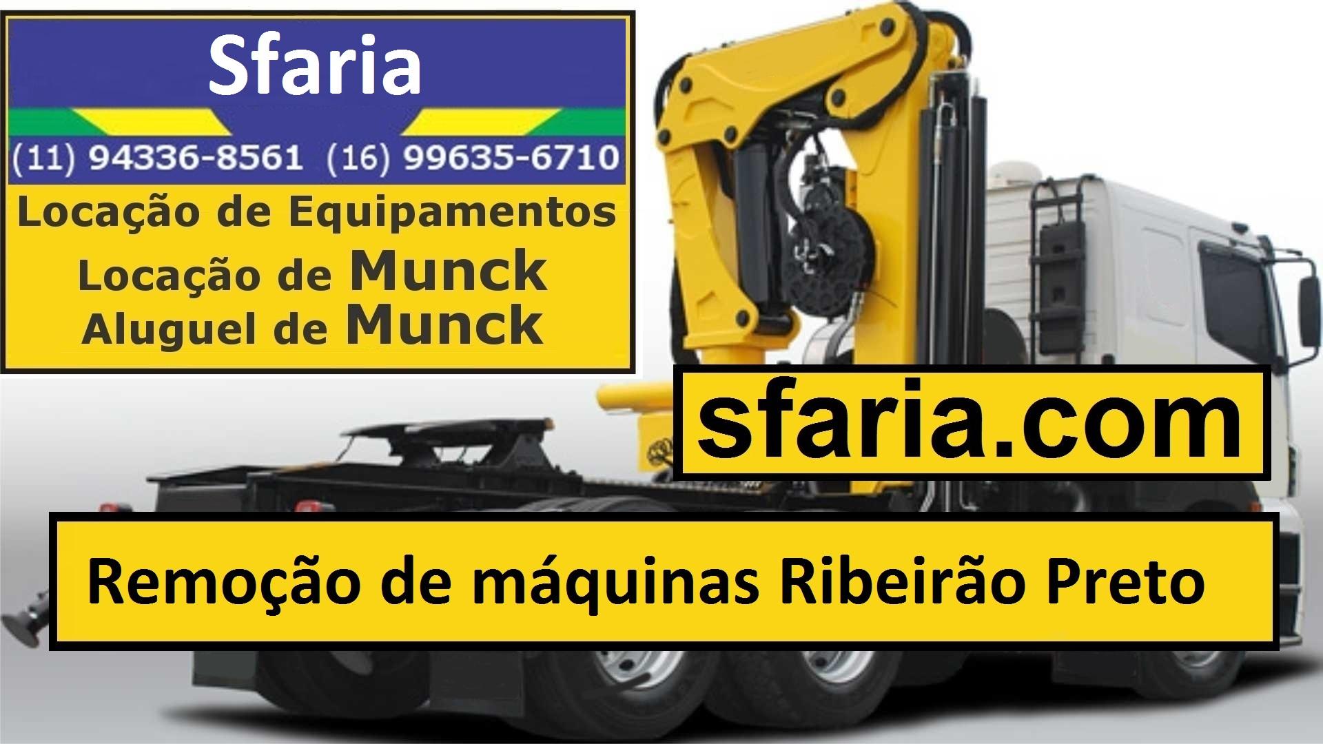 Serviços de munck Ribeirão Preto