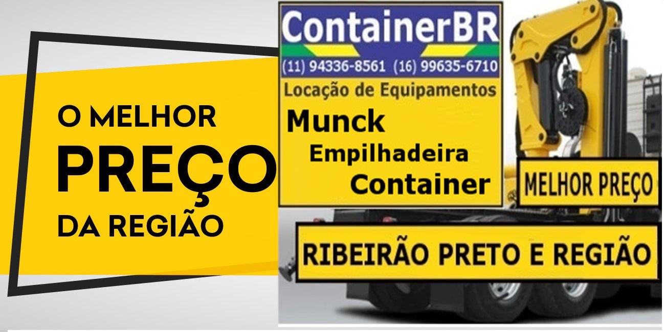 Locação de Munck Ribeirão Preto SP